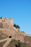 Το Castle Cardona των τοίχων Στοκ φωτογραφία με δικαίωμα ελεύθερης χρήσης