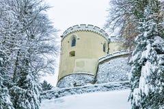 Το Castle Trakoscan, Κροατία Στοκ φωτογραφία με δικαίωμα ελεύθερης χρήσης