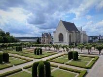 Το Château δ ` Angers είναι ένα κάστρο στην πόλη της Angers στην κοιλάδα της Loire, στη Γαλλία Στοκ φωτογραφίες με δικαίωμα ελεύθερης χρήσης