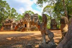 Το Chau λέει ο ναός Angkor ότι Tevoda wat siem συγκεντρώνει το βασίλειο της Καμπότζης της κατάπληξης Στοκ Εικόνες