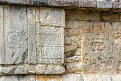 Το Chichen Itza, μια μεγάλη pre-Columbian πόλη έχτισε από τη Maya αστική Στοκ Εικόνες