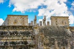 Το Chichen Itza, μια μεγάλη pre-Columbian πόλη έχτισε από τη Maya αστική Στοκ Φωτογραφία