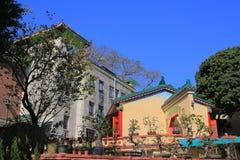 Το Ching Chung Koon βρίσκεται σε Tuen Mun, Χονγκ Κονγκ Στοκ φωτογραφία με δικαίωμα ελεύθερης χρήσης