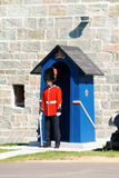 Το Citadelle της πόλης του Κεμπέκ στον Καναδά Στοκ Φωτογραφίες