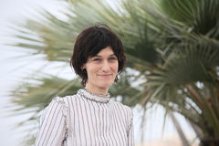 Το Clotilde Hesme παρευρίσκεται στην κριτική επιτροπή Cinefondation Στοκ φωτογραφία με δικαίωμα ελεύθερης χρήσης