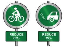 το CO2 μειώνει ελεύθερη απεικόνιση δικαιώματος