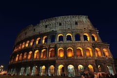 Το coliseum - μαγικές νύχτες στη Ρώμη Στοκ φωτογραφία με δικαίωμα ελεύθερης χρήσης