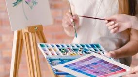 Το coloristics αισθητικής αγωγής συζητά το watercolor σκιάς φιλμ μικρού μήκους