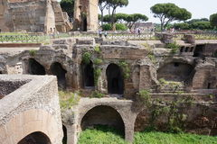 Το Colosseum και το φόρουμ Στοκ φωτογραφίες με δικαίωμα ελεύθερης χρήσης