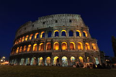 Το colosseum - μαγικές νύχτες στη Ρώμη Στοκ εικόνα με δικαίωμα ελεύθερης χρήσης