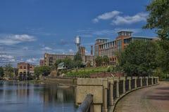 Το Columbus Riverfront Στοκ Εικόνες