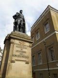 Το compton ιστίων άγαλμα στο Λονδίνο Στοκ Εικόνες