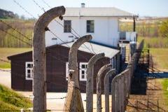 το concencration στρατόπεδων ακαθάριστο Στοκ Φωτογραφία