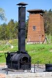 το concencration στρατόπεδων ακαθάριστο Στοκ φωτογραφία με δικαίωμα ελεύθερης χρήσης