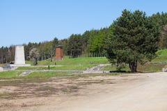το concencration στρατόπεδων ακαθάριστο Στοκ εικόνες με δικαίωμα ελεύθερης χρήσης