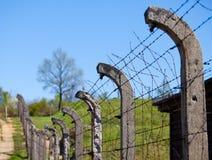 το concencration στρατόπεδων ακαθάριστο Στοκ Εικόνα