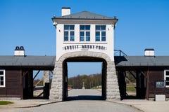 το concencration στρατόπεδων ακαθάριστο Στοκ Εικόνες