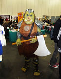 το cosplay γεγονός 24$ων κέντρων τ&omicro Στοκ Φωτογραφίες