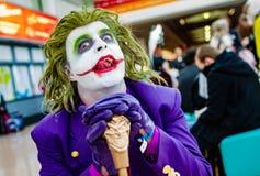 Το Cosplayer έντυσε ως πλακατζής Στοκ φωτογραφία με δικαίωμα ελεύθερης χρήσης