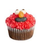 Το Cupcakes που απομονώνεται κέικ στο λευκό, είναι μικρά Στοκ Φωτογραφίες