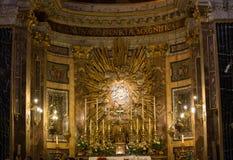 Το della Vittoria της Σάντα Μαρία/η κυρία νίκης μας είναι Ρωμαίος - καθολική τιμητικοη εκκλησία που αφιερώνεται στη Virgin Mary σ Στοκ εικόνες με δικαίωμα ελεύθερης χρήσης