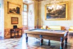 Το Di Agliè Ducale Castello ήταν το βασιλικό σπίτι του κραμπολάχανου Στοκ Φωτογραφίες