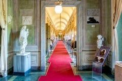 Το Di Agliè Ducale Castello ήταν το βασιλικό σπίτι του κραμπολάχανου Στοκ Εικόνα