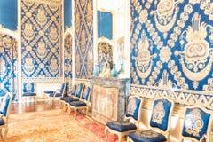 Το Di Agliè Ducale Castello ήταν το βασιλικό σπίτι του κραμπολάχανου Στοκ εικόνες με δικαίωμα ελεύθερης χρήσης