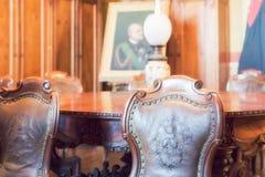 Το Di Agliè Ducale Castello ήταν το βασιλικό σπίτι του κραμπολάχανου Στοκ φωτογραφίες με δικαίωμα ελεύθερης χρήσης