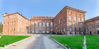 Το Di Agliè Ducale Castello ήταν το βασιλικό σπίτι του κραμπολάχανου Στοκ εικόνα με δικαίωμα ελεύθερης χρήσης