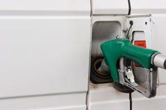 το diesel γεμίζει επάνω Στοκ εικόνα με δικαίωμα ελεύθερης χρήσης