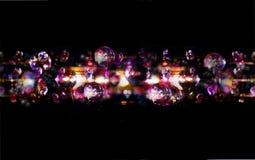 Το Disco ανάβει τη φωτεινή ανασκόπηση bokeh διανυσματική απεικόνιση