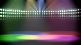 Το Disco ανάβει το βρόχο ελεύθερη απεικόνιση δικαιώματος
