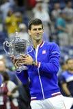 Το Djokovic Novak ΗΠΑ ανοίγει το 2015 (16) Στοκ εικόνα με δικαίωμα ελεύθερης χρήσης