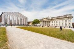 Το ` Documenta ` στο Kassel πραγματοποιείται κάθε πέντε έτη και διαρκεί τρεις μήνες Στοκ Φωτογραφία