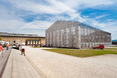 Το ` Documenta ` στο Kassel πραγματοποιείται κάθε πέντε έτη και διαρκεί τρεις μήνες Στοκ Εικόνες