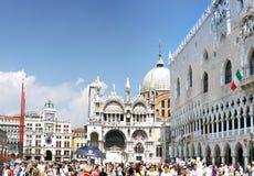 Το Doge παλάτι, καθεδρικός ναός του SAN Marco, Βενετία στοκ εικόνες με δικαίωμα ελεύθερης χρήσης