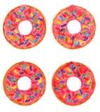 Το Donuts με ψεκάζει Στοκ Εικόνες