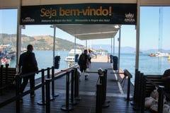 Το DOS Reis και Ilha Grande Angra είναι τόποι προορισμού τουριστών στο Ρίο ντε Τζανέιρο Στοκ Εικόνες