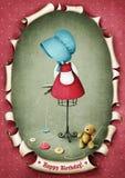 Το DummyDoll με Teddy αντέχει διανυσματική απεικόνιση