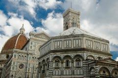 Το Duomo - βασιλική Αγίου Mary του λουλουδιού Στοκ Φωτογραφία