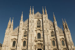 Το Duomo, καθεδρικός ναός του Μιλάνου Στοκ εικόνες με δικαίωμα ελεύθερης χρήσης