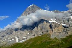 Το Eiger Nordwand Στοκ Εικόνες