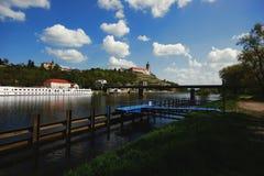 Το Elbe Στοκ Εικόνα