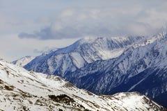 Το Elbrus τοποθετεί Στοκ Εικόνες