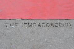 Το Embarcadero στοκ εικόνες
