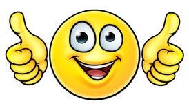 Το Emoji φυλλομετρεί επάνω το εικονίδιο Διανυσματική απεικόνιση