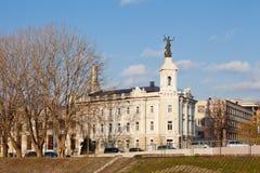Το Energetics και τεχνολογίας μουσείο σε Vilnius Στοκ φωτογραφία με δικαίωμα ελεύθερης χρήσης