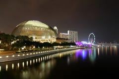 Το Esplanade θέατρο Σινγκαπούρη Στοκ Εικόνα