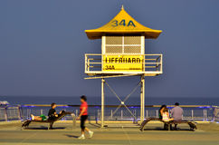 Το Esplanade Gold Coast Αυστραλία παραδείσου Surfers Στοκ Εικόνα